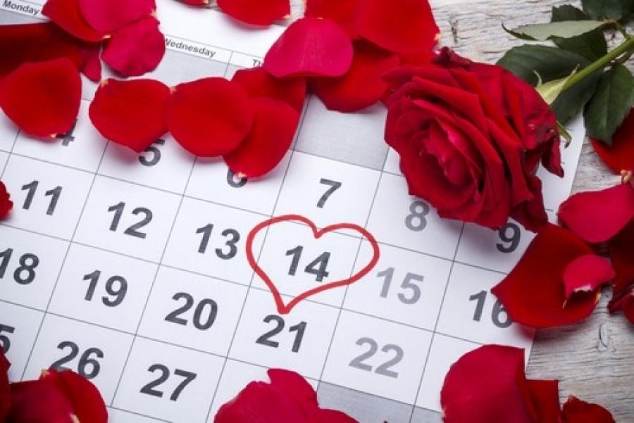 Свети Валентин - празникът на влюбените